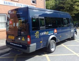 high school bus 300x233 Vehicle Livery