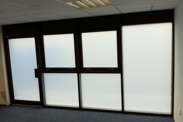 Frosted Glass In Buildings