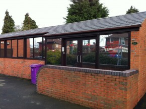 CullPlastering1 290x216 Silver Reflective Window Film   Liverpool