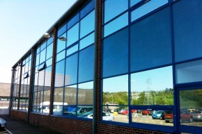 CurtainWallFilm 290x193 Reduce Classroom Glare & Save Money